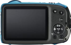 FujiFilm FinePix XP130; - camera back side