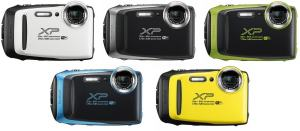 FujiFilm FinePix XP130; camera variants