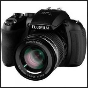 Fujifilm FinePix HS10 Manual - camera front face