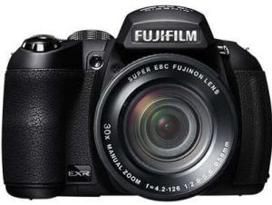 Fujifilm FinePix HS28EXR Manual - front face