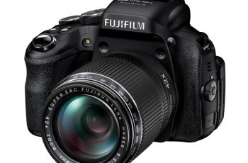 Fujifilm FinePix HS50EXR Manual - camera front face