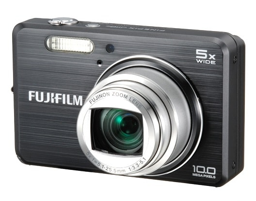 Fujifilm FinePix J110W Manual - camera front face