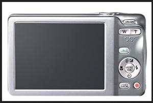 Fujifilm FinePix JX590 Manual - camera rear side