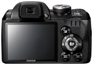 Fujifilm FinePix S3900 Manual - rear side