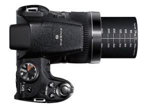 Fujifilm FinePix S4000 Manual - camera top side