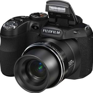 Fujifilm FinePix S4000A Manual - camera front face