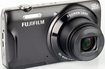 Fujifilm FinePix T550 Manual User Guide and Product Specification