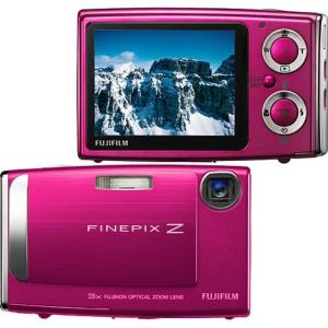 Fujifilm FinePix Z10fd Manual - camera front and back side