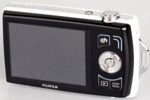Fujifilm FinePix Z110 Manual-rear side