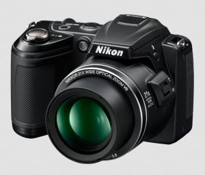 Nikon CoolPix L120 Manual-camera front face