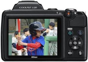 Nikon CoolPix L120 Manual - camera rear side