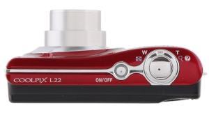 Nikon CoolPix L22 Manual - camera side