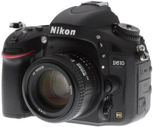 Nikon D610 Manual User Guide and Camera Specification