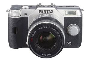 Pentax Q10 manual - camera front side