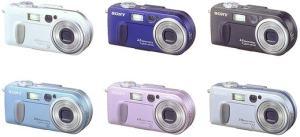 Sony DSC-P2 Manual - camera variants