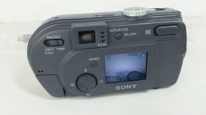 Sony DSC-P20 Manual - camera rear side