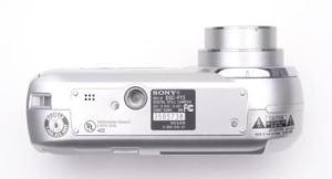 Sony DSC-P73 Manual - camera side