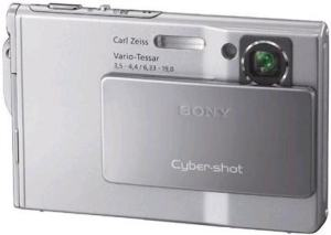 Sony DSC-T7 Manual User Guide and Product Specification