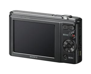 Sony DSC-W800 Manual - camera rear side