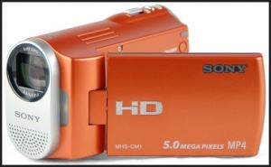 Sony MHS-CM1 Manual - orange variants