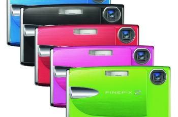 Fujifilm FinePix Z20FD Manual - camera variants