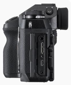 Fujifilm X-H1 Review; Camera side