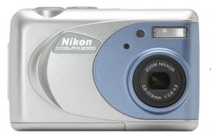 Nikon CoolPix 2000 Manual User Guide and Product Specification
