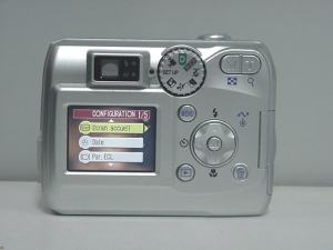 Nikon Coolpix 2200 Manual - camera rear side