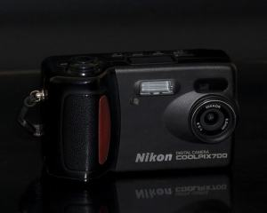 Nikon Coolpix 700 Manual - camera front face