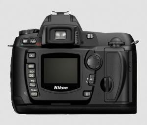 Nikon D70 Manual - camera rear side