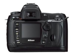Nikon D70S Manual - camera rear side