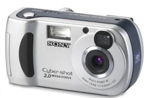 Sony DSC-P31 Manual - camera front face