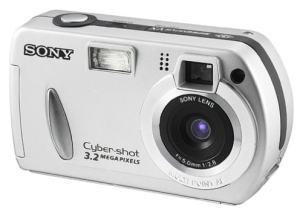 Sony DSC-P32 Manual User Guide and Product Specification