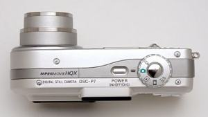 Sony DSC P7 Manual - camera side