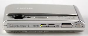 Sony DSC T70HDPR Manual - camera side