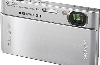 Sony DSC T900 Manual User Guide and Product Specification