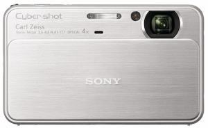 Sony DSC-T99 Manual - camera with lens slide opened