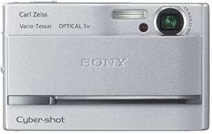 Sony DSC T9B Manual - camera front face