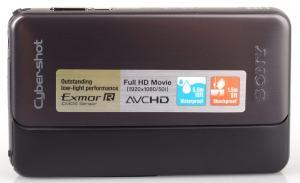 Sony DSC-TX20 Manual - camera font side