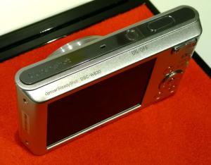 Sony DSC W-830 Manual - camera side