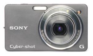 Sony DSC W-X1 Manual - camera front face