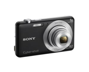 Sony DSC W710 Manual - camera front face