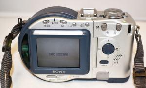 Sony MVC-CD200 Manual - camera rear side