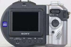 Sony MVC-CD250 Manual - camera rear side