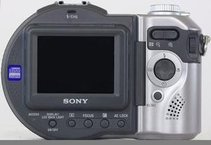 Sony MVC-CD400 Manual - camera rear side