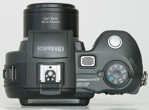 Sony MVC-CD500 Manual - camera top side