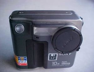 Sony MVC-FD7 Manual - camera front side