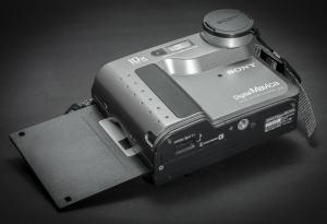 Sony MVC-FD73 Manual - camera front face