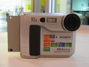 Sony MVC-FD75 Manual - camera front side