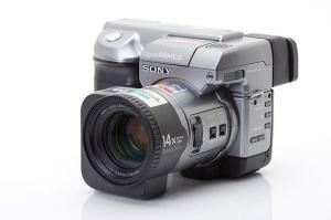 Sony MVC-FD91 Manual - camera front face